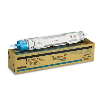 XEROX PHASER 6200 TONER CARTRIDGE CYAN 3K